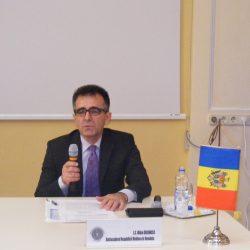 Excelenţa Sa Mihai Gribincea, ambasadorul Republicii Moldova la Bucureşti, militează pentru mai multe investiții românești în statul pe care îl reprezintă
