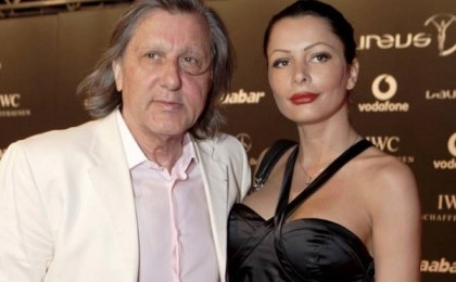Ilie Nastase si Brigitte