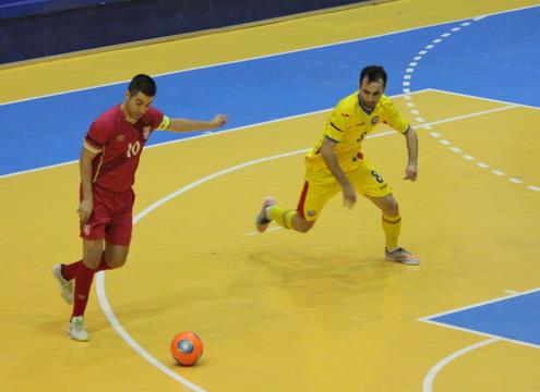 Romania - Serbia futsal