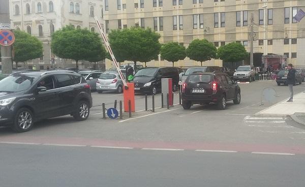 parcare hotel Timisoara