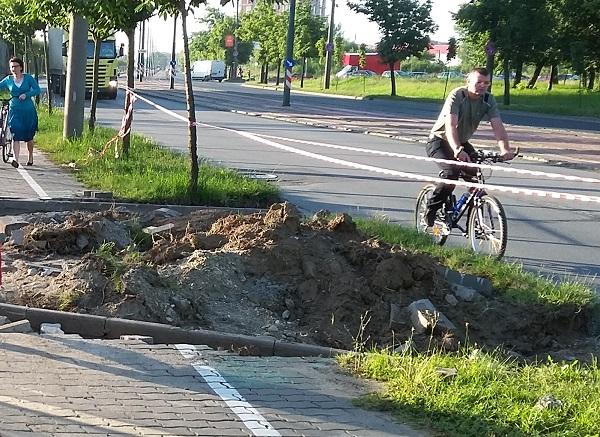 trotuare Timisoara