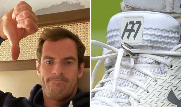 Lui Andy Murray i-a fost furată verigheta, după ce o legase de șireturile pantofilor de sport