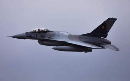 Incident aviatic: un F-16 s-a dezmembrat în zbor, în România