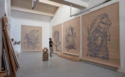 Kunsthalle Bega anunță solo show-ul L'ANATOMIA DEL CAVALLO de Dan Vezentan. Foto