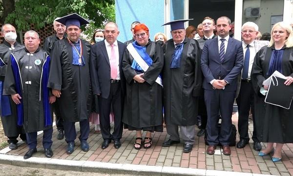 Medicii timișoreni Marius Craina și Doru Anastasiu, răsplătiți cu cea mai înaltă distincție academică
