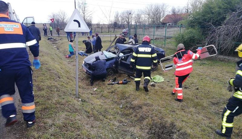 Accident mortal în apropiere de Timişoara