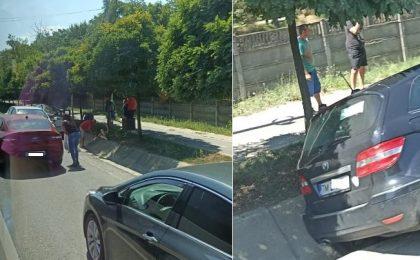 Accident violent între Timişoara şi Giroc. Trafic dat peste cap