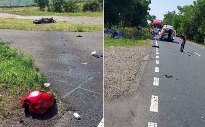 Tânăr motociclist din Timişoara, lovit mortal de o şoferiţă