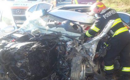 Accident groaznic în apropiere de Timișoara