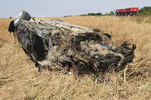 Accident grav în apropiere de Sânnicolau Mare / Foto