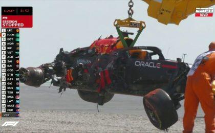 Video! Incident violent în cursa de Formula 1 de la Silverstone