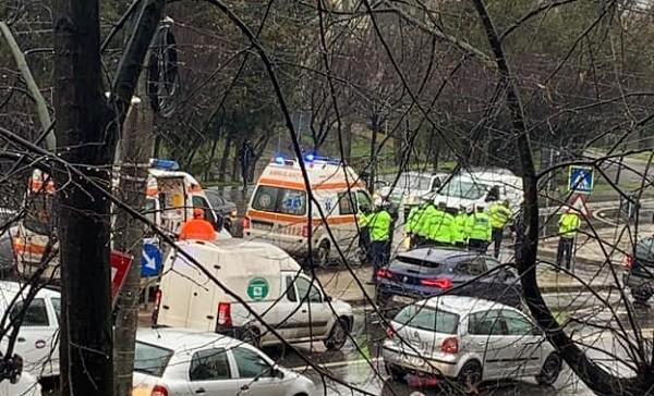 Un șofer în vârstă de 97 de ani a lovit, în Timișoara, un pieton. A fugit apoi de la locul accidentului