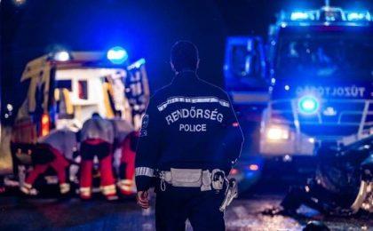 Cinci morți, după ce un microbuz românesc și mai multe vehicule au fost implicate într-un accident în Ungaria