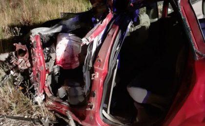 Doi morţi într-un accident de circulaţie, în vestul ţării