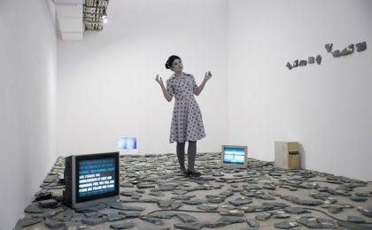 """Adina Mocanu prezintă """"Being Nina"""" la Kunsthalle Bega"""