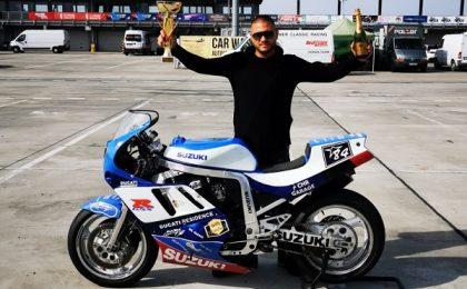Ghirozeanul Alex Beleiu, dublu campion european la motociclism! A fost declarat campion internaţional al Slovaciei