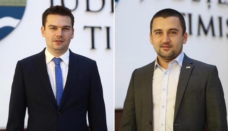 Consiliul Județean Timiș are vicepreședinți. Cosmin Tabără se pregătește să devină viceprimar