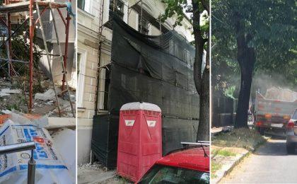 Polițiștii locali au dat amenzi uriaşe celor care gestionează unele şantiere din Timişoara