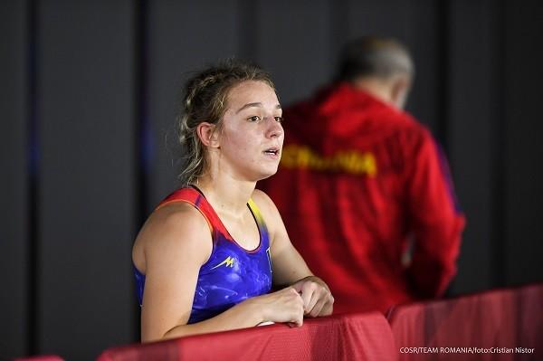 Luptătoarea Andreea Beatrice Ana s-a oprit în primul tur la Jocurile Olimpice Tokyo 2020