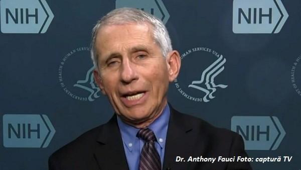 Anthony Fauci: A treia doză de vaccin ar putea avea efect nedorit