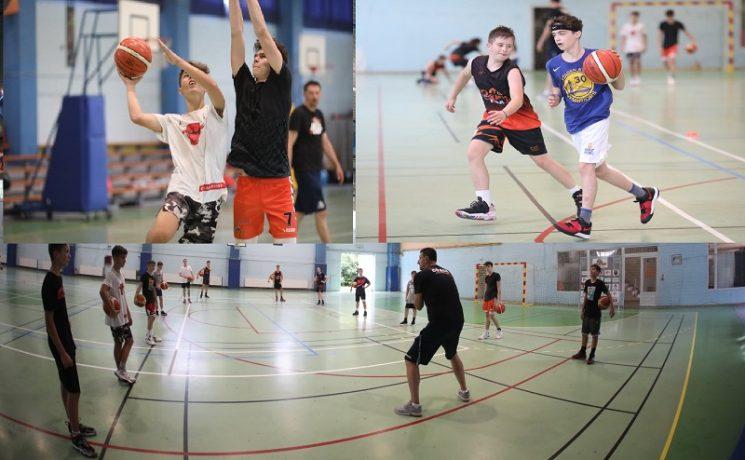 Micii baschetbaliști din Timişoara se pregătesc pentru marea performanţă
