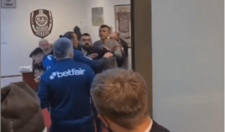 Bătaie la Cluj, după meciul între CFR și Steaua Roșie