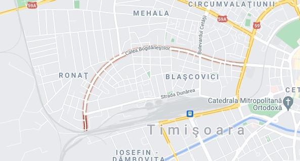 Restricții rutiere pe Calea Bogdăneștilor, până în 30 octombrie