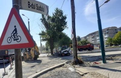 Se închide traficul rutier pe Bulevardul Sudului din Timișoara