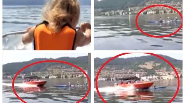 Caiac cu sportivi, lovit de o barcă de agrement plină cu turiști, la Orșova