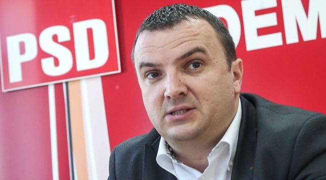 Călin Dobra, candidat oficial pentru un nou mandat la Consiliului Judeţean Timiş din partea PSD