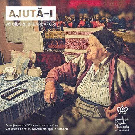 Campanie de strângere de fonduri pentru susținerea vârstnicilor singuri
