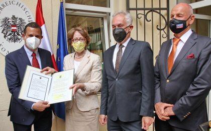 Consulatul Onorific al Austriei la Timișoara a fost inaugurat oficial