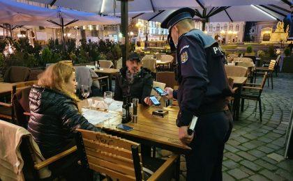 Acțiune cu efective mărite desfășurată de polițiștii timișeni (foto)