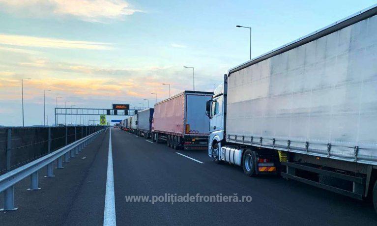 Trafic restricționat temporar pe teritoriul Ungariei pentru automarfare