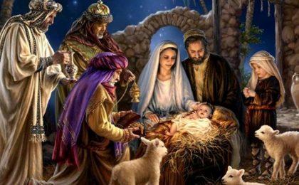 Ajunul Crăciunului pentru ortodocșii de rit vechi: Срећан Божић! Щасливого Різдва! С Рождеством!