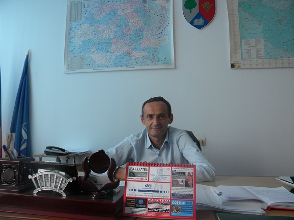 Cristian Cardaș, actual primar, fost vice...