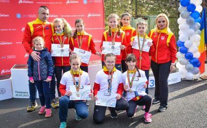 CS Giroc - Chișoda, medalie de aur în finala Campionatului Național de Marș