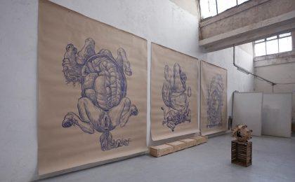 Solo show-ul L'Anatomia del Cavallo - de astăzi, la Kunsthalle Bega din Timişoara