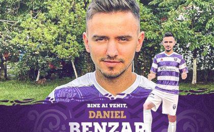 Daniel Benzar va juca la SSU Politehnica Timișoara