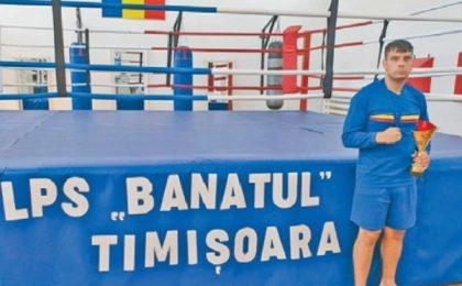 Un boxer de la LPS Banatul a devenit campion național!