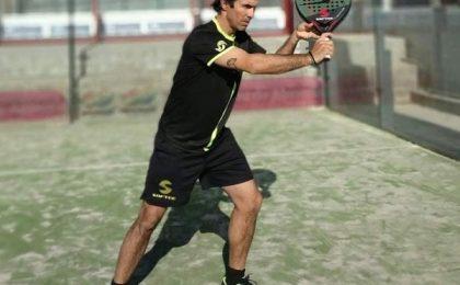 Antrenamente de padel cu vicecampionul mondial Dante Luchetti, la Timişoara