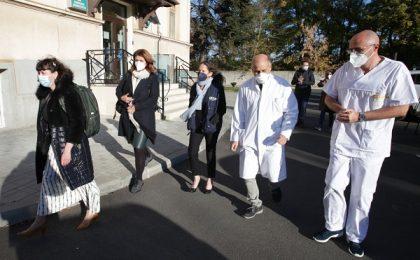 Delegație a OMS, la Spitalul de Boli Infecțioase din Timișoara