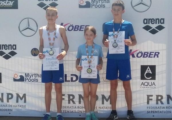 Timișorenii au dominat Campionatul Naţional de biatlon și triatlon: 28 de medalii