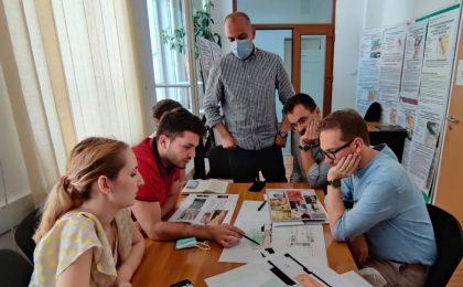 Dominic Fritz: Uszoda renaște prin creativitatea unei echipe de studenți ai Facultății de Arhitectură și Urbanism din Timișoara. Foto