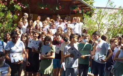 125 de elevi din Timişoara, premiați de Parohia Ortodoxă Viile Fabric
