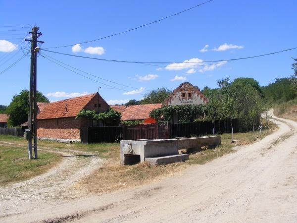 Una dintre fântânile care au secat în această vară la Crivobara