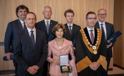 Rectorul Florin Drăgan, Profesor Onorific al Universității Obuda din Budapesta