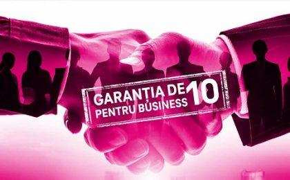 Telekom România susţine antreprenorii români prin Garanția de 10 pentru business