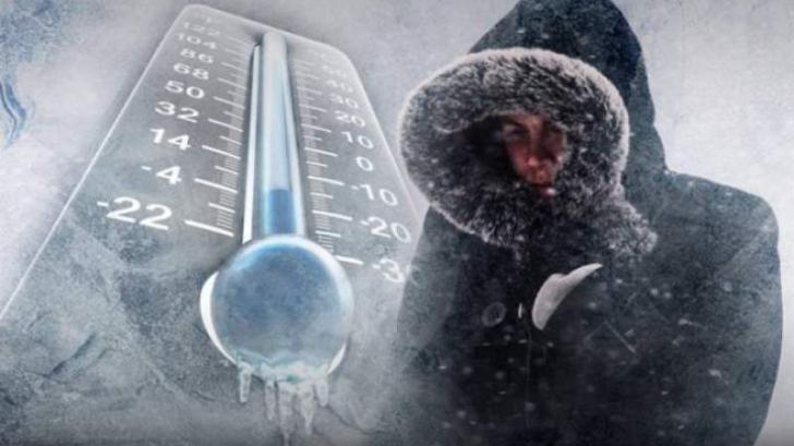 Val de ger în toată ţara. Temperaturile vor coborî până la minus 22 de grade