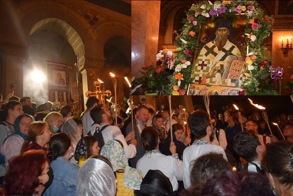 Hramul Catedralei Mitropolitane din Timişoara, sărbătorit de mii de credincioși
